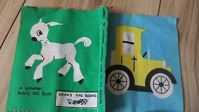 Vintage Deans Rag Cloth Book Vintage Baby Fabric Books
