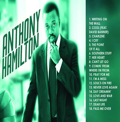 The Best Of Anthony Hamilton Mix DJ Compilation Mix CD