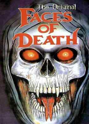 Faces of Death - Original 1978 Edited Edition Horror / Documentary DVD On Demand