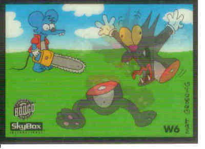 The simpsons Series 2 Wiggle Card W6