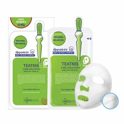 [MEDIHEAL] Teatree Care Solution Essential Mask EX - 1pack (10pcs)