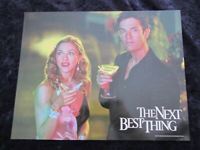 THE NEXT BEST THING  lobby card #9 MADONNA, RUPERT EVERETT