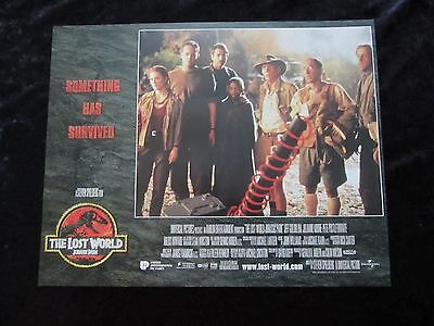 Jurassic Park lobby card # 5 - Lost World, Jeff Goldblum, Julianne Moore