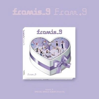 Fromis_9-[From.9]Special Single Album CD+Poster/On+88p PhotoBook+Card+Invitation