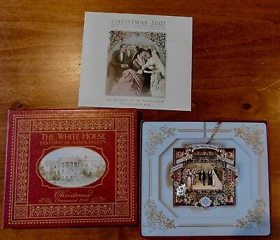The White House Historical Association Christmas Ornament 2007 NEW