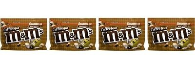M&M's 4X COFFEE NUT MILK CHOCOLATE LARGE Sharing Size Bag 9.6 OZ