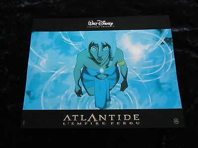 Atlantis lobby cards - Walt Disney Animation - French set of 10 stills