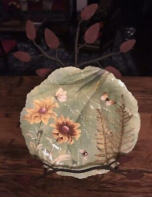 Spode Floral Haven Sculpted Luncheon Plate