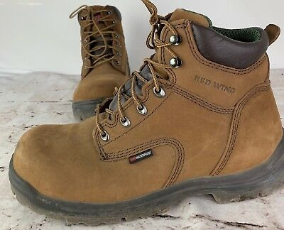 5596e03af0b RED WING KING Toe 2240 Leather Safety Boots Electrical Hazard Waterproof Sz  10.5