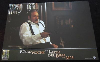 MIDNIGHT IN THE GARDEN OF GOOD AND EVIL lobby card  # 7 - KEVIN SPACEY