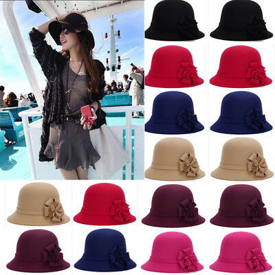 2018 Church Derby Dress Hat Women Summer Flowers Hat Beach Cap Sun Hat Wide Brim