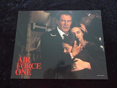 AIR FORCE ONE lobby card #2 HARRISON FORD original international lobby card