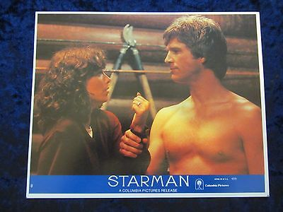 Starman lobby card # 8 - Jeff Bridges, Karen Allen, John Carpenter