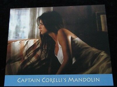 Captain Corelli's Mandolin lobby card # 5 - Penelope Cruz - 8 x 10 inches