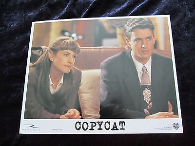 COPYCAT lobby card #5 HOLLY HUNTER, DERMOT MULRONEY