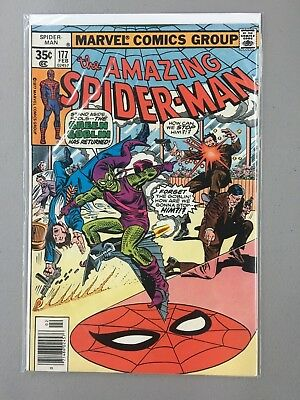 Amazing Spider-Man #177 (Feb 1978, Marvel) Green Goblin Appearance