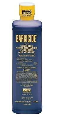 Barbicide Desinfectante Concentrado Solution Germicida Anti-moho Fórmula 473ml