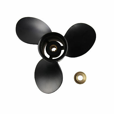 9 x 9 Aluminum Marine Boat Outboard Propeller For Mercury 6-15HP 48-828156A12