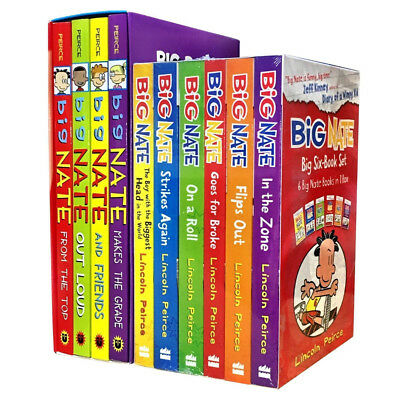 Big Nate Series Collection By Lincoln Peirce 10 Books Set Paperback NEW