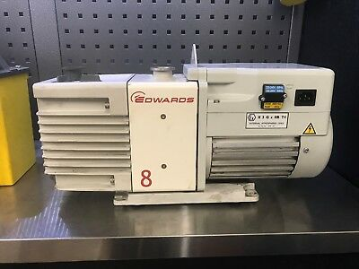Edwards RV8 Rotary Vane Vacuum Pump