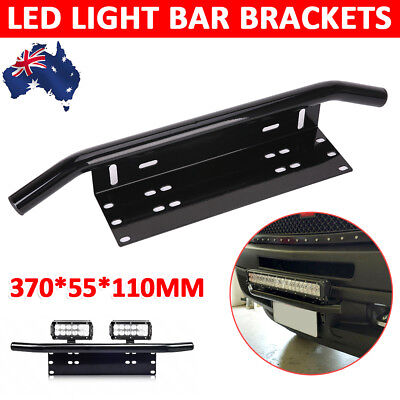 NEW Number Plate Bull bar Frame For Driving Light Bar Mount Mounting Bracket AU