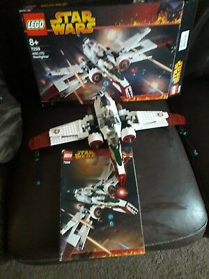 Lego Star Wars Arc 170 Fighter 7259 Near Complete With