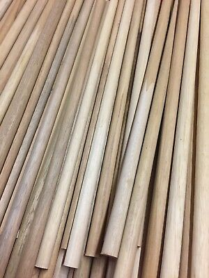 10mm X 300mm Craft Wood Dowels Pack Of 10