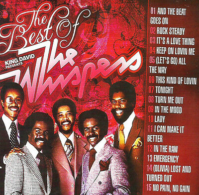 The Very Best Of The Whispers DJ Compilation Mix CD