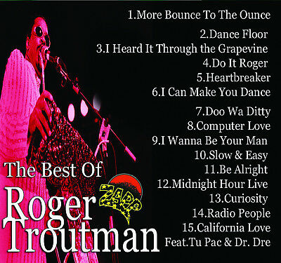 Best Of Roger Troutman & Zapp DJ Compilation Mix CD