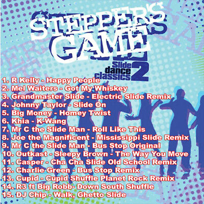 The Very Best Of The Stepper's 2 Game DJ Compilation Mix CD