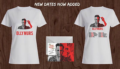Olly Murs 2019 Tour T-shirt with Christmas gift card