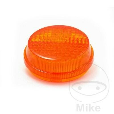 JMP Universal Round Indicator Orange Lens x1pc Honda VT 1100 C3 Shadow Aero 1998