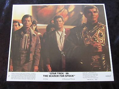 Star Trek III The Search For Spock original lobby card # 7 - 8 x 10 inches