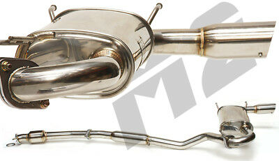 M2 Stainless Steel Cat Back Exhaust System Mazda Mx5 Nb 1.6 1.8 1998-2005 Z3559