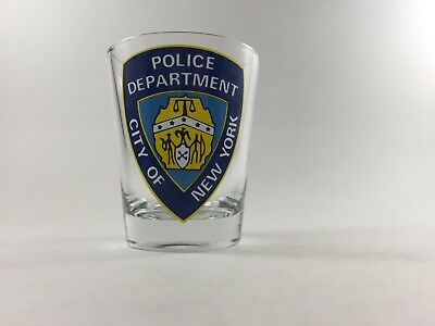 Shot Glass Police Department of New York