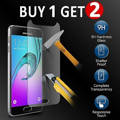For Samsung Galaxy A3 (2016) Glass Screen Protector - 100% Genuine Tempered