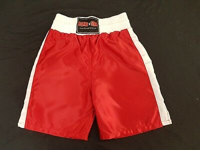Boxing shorts  polyester satin TO Clear