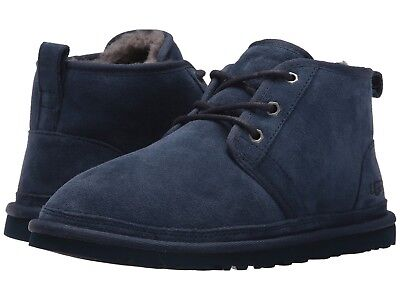 d6e367d6ddd NEW 2019 UGG Men Neumel Boots Shoes Navy Blue Pure Wool Cushioned Original  3236