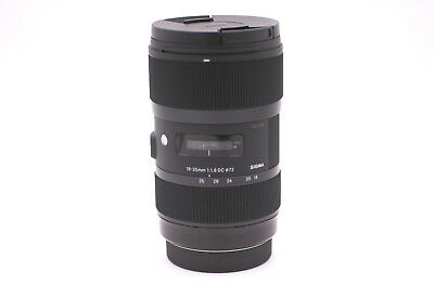 Sigma 18-35mm f/1.8 Art DC HSM Zoom Lens for Canon DSLR Cameras