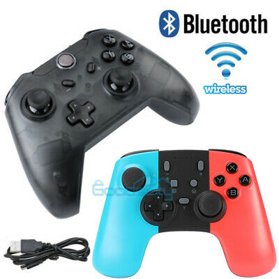 Wireless Wired Pro Controller Gamepad Joypad Remote for Nintendo Switch Console