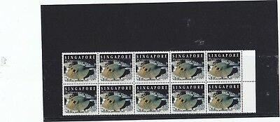 "Singapore, 1994, ""fish Of Singapore"" Stamp Set Mint Nh Fresh Good Condition"