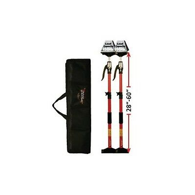 Fastcap 3-HUPPERHAND Upper 3rd Hand Support Poles System 2-pack Kit New