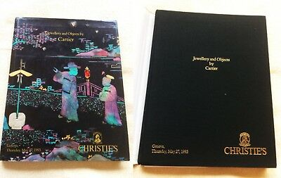 RARITÄT - Christie's Genf - Jewels & Objects by Cartier 1993 HARDCOVER