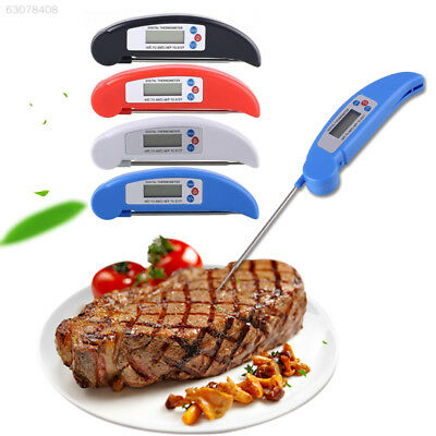 DF2C Digital Food Thermometer Probe LCD Professiona Kitchen Cooking Outside Tool