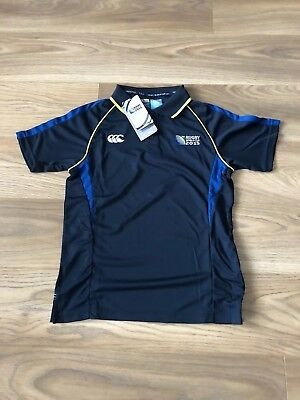 Canterbury Rugby World Cup 2015 Polo Brand New With Tags Size M