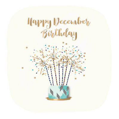 Happy December Birthday Greeting Card Talking Pictures Cards 399