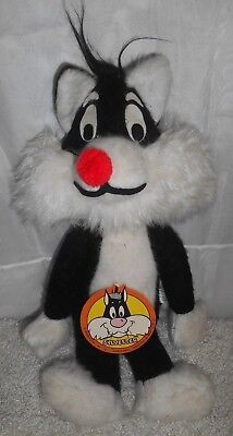 Vtg 1971 Sylvester The Cat Looney Tunes 15'' Plush W/ Tag Clean!