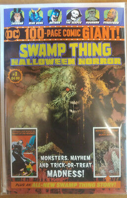Dc-100-Page-Giant-Swamp-Thing-Halloween-Horror-#1-Wal-Mart-Exclusive-Brand-New!!