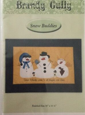 Snow Buddies Pattern Brandy Gutty Christmas Craft Project Pattern Only