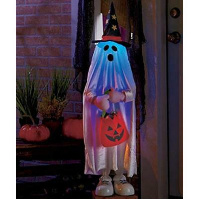 Lighted Halloween Outdoor Character Decorations, Ghost
